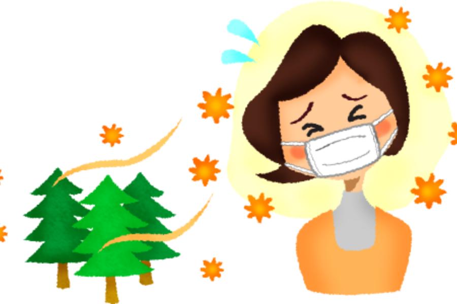 花粉症とヨガの関係に関する画像